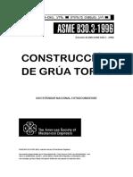 ASME B30.3-1996-GRÚAS TORRE (esp.)