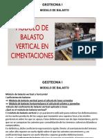 CLASE MODULO DE BALASTO
