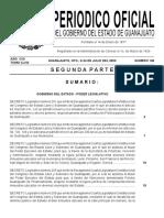 Periódico oficial del gobierno del estado de Guanajuato 24 de julio