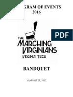 bandquet pressbook 2017
