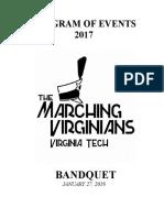 2018 bandquet pressbook