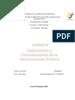 Administracion Publica UNIDAD IV