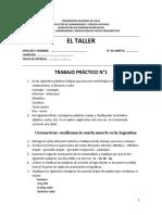 Trabajo P, N1 taller 2020