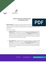 Contrato RISAS FACTORY SAS - DON JEDIONDO