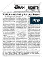 J&K Human Rights Perspective, Nov-Dec 2010