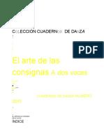 EL ARTE DE LAS CONSIGNAS