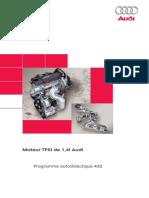 SSP 432 Moteur TFSI de 1,4l Audi