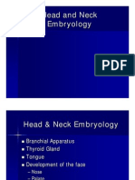 Head and Neck Embryology