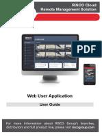 5IN2308 B RISCO Cloud Web Application User Guide EN PDF