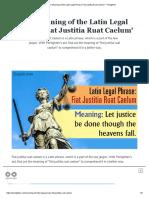 The Meaning of the Latin Legal Phrase 'Fiat Justitia Ruat Caelum' - Penlighten.pdf