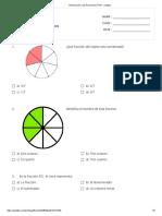 Introducción a las fracciones _ Print - Quizizz