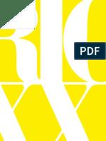 RIO XXI . Vertentes Contemporâneas - Livro - Editoração - Fundação Getúlio Vargas - Organização - Paulo Herkenhoff - Coautoria - Leno Veras
