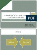 Prevencion suicidio Claudia Cea.pptx