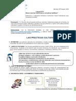 LESSON 01 DP TRADICIONES Y COSTUMBRES