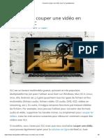 Comment couper une vidéo avec VLC gratuitement
