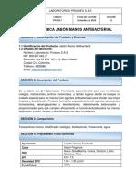 . FT JABON ANTIBACTERIAL X3000 PROASEO