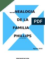 Historia Familiar de los Phillips de Costa Rica