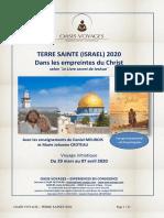 191016 Brochure Israel Avec Daniel Meurois