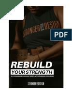 REBUILD guide