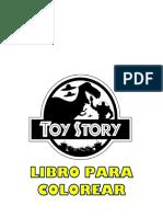 LIBRO PARA COLOREAR toy story 2019