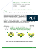 Dynamics of Sizer Operation and Resultant Effect on Electrical Supply