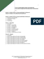CÓDIGO DE ÉTICA E RESPONSABILIDADE PROFISSIONAL