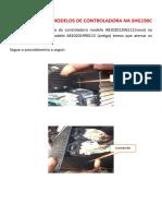 Substituição de Modelos de Controladoras Na SHG190C