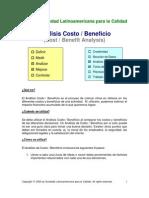 análisis costo-beneficio