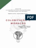 XXXI Coleção de Revista de História sob a direção do Prof. Eurípedes Simões de Paula..pdf