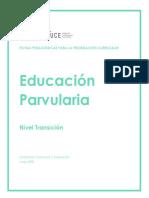 FICHAS PEDAGÓGICAS PARA LA PRIORIZACIÓN Curricular-Ed Parvularia
