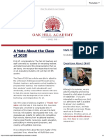oha newsletter