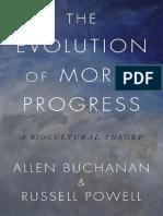 BUCHANAN y POWELL, The Evolution of Moral Progress