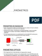PIROMETROS
