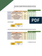 EJERCICIOS FACTORES DE PONDERACIÓN ..xlsx