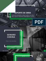 Reporte de obra - 10 - HECTOR.pptx