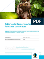 190226 fairtrade criterio de comercio justo fairtrade para cacao