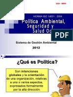 1. Politica Ambiental y Seguridad