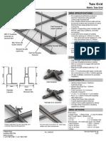 28669_AU Datacentre Structural Ceiling Grid 60CM datasheet