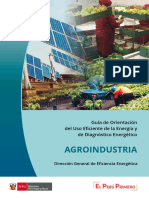 agroindustria y energia