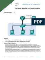 4.4.2.8 Lab - Using Wireshark to Examine Ethernet Frames