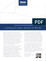 2019.04.16 - Looking for Easy Games in Bonds