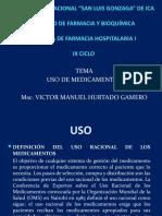 FARMACIA HOSPITALARIA  USO DE MEDICAMENTOS.pptx