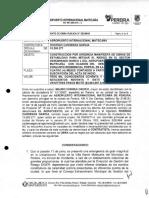 Contrato 043 de julio de 2019 Aeropuerto Internacional Matecaña