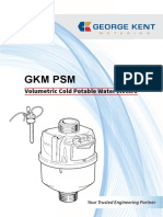 George Kent Malaysia - Water Meter Specification