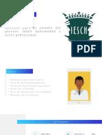 Métodos para el estudio del proceso salud enfermedad a nivel poblacional.