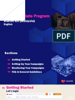 Lazada Affiliate Program Starter Kit - MY 2020