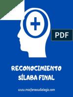Silabas finales