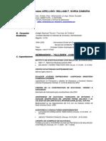 Curriculum WSORIAZ -2020