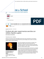 El efecto del calor_ experimentos sencillos con sólidos, líquidos y gases _ www.scienceinschool.org