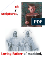 As I Search Holy Scriptures Flip Chart